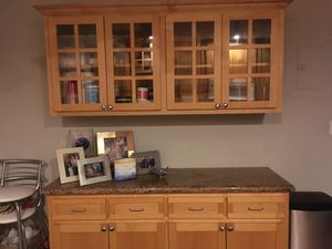 ENTIRE KITCHEN MUST GO!! Fridge, Microwave, Gas Oven, Dishwasher, Kitchen Cabinets and Granite Top for Sale in Fort Lauderdale, FL