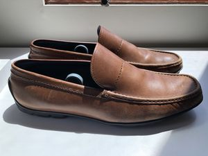Mens Hugo Boss Brown Leather loafer shoes - Size 9.5 for Sale in San Diego, CA