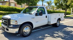 2007 Ford F350 Dually Diesel Utility Truck 119,000 Miles. for Sale in Fontana, CA