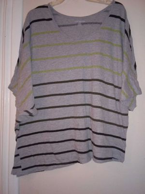 Striped Lane Bryant top for Sale in Bloomington, IL