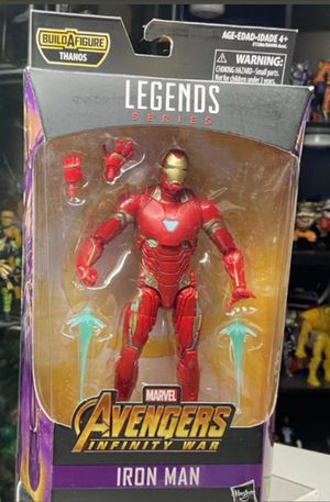 Marvel Legends Avengers Infinity War Iron Man Collectible Action Figure Toy from the Thanos Build a Figure Wave for Sale in Chicago, IL