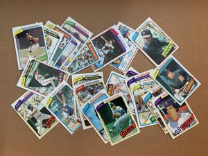 1980 Topps Baseball Cards All 23 Cards are Hall of Famers for Sale in Brea, CA