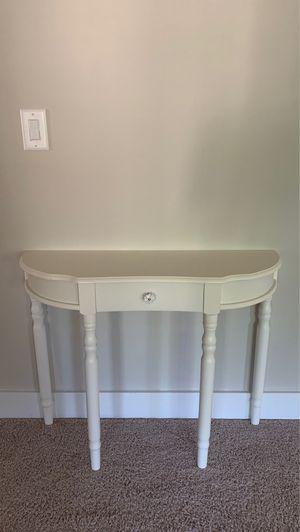 Console table white for Sale in Marietta, GA