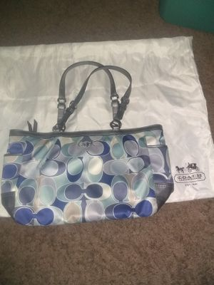 Authentic coach bag $20 FIRM (Flakes Blocked) for Sale in Sacramento, CA
