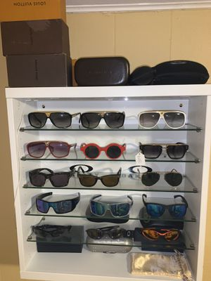 Sunglasses collection with display case for Sale in Austin, TX