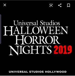 Halloween Horror Nights Tickets for Sale in Lynwood, CA