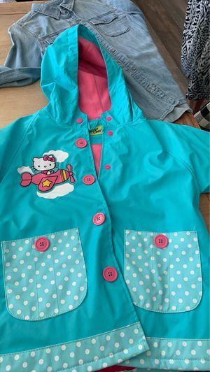 Western Chief Hello Kitty Raincoat size 6 for Sale in Upland, CA