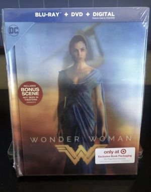 Wonder Woman blu-ray for Sale in San Diego, CA