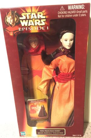 Vintage Star Wars Episode 1 Amidalla 12 inch figure mint in box toy for Sale in Brooklyn, NY