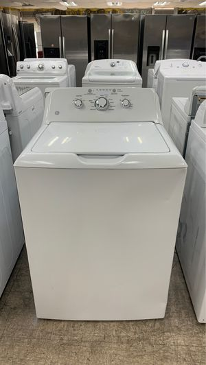 Ge 4.2 cu ft TOP-LOAD WASHER (WHITE) for Sale in Garland, TX