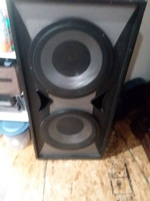 Audio sistem Sony with pro studio bass and 2 voice speakers for Sale in Taylor, PA