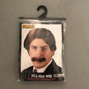 Spirit Halloween 70s Man Wig Costume for Sale in Tempe, AZ