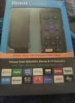 Roku Express. Brand new. Still in box. never been opened. includes batteries. $30 for Sale in San Diego, CA