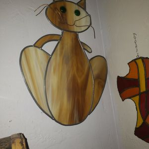 Stained Glass Cat. for Sale in Phoenix, AZ