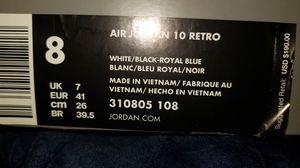 AIR JORDAN 10 RETRO for Sale in Delray Beach, FL