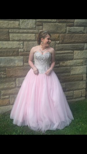 Size 8 Baby Pink Boutique Dress for Sale in Ann Arbor, MI