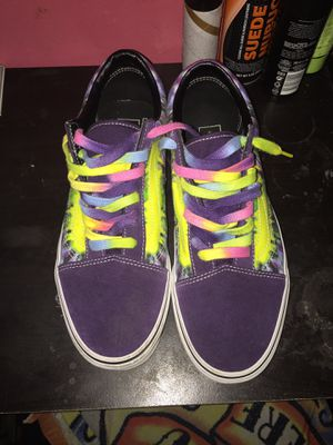 Vans (Tie dye) for Sale in Schenectady, NY