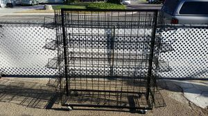 "56"" Heavy Duty Metal Rolling Shelf Grid Display Cart 19 shelves! for Sale in La Verne, CA"