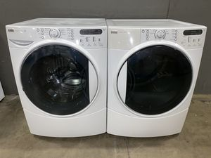 KENMORE ELITE XL CAPACITY WASHER DRYER ELECTRIC 100 DAYS WARRANTY for Sale in Vancouver, WA
