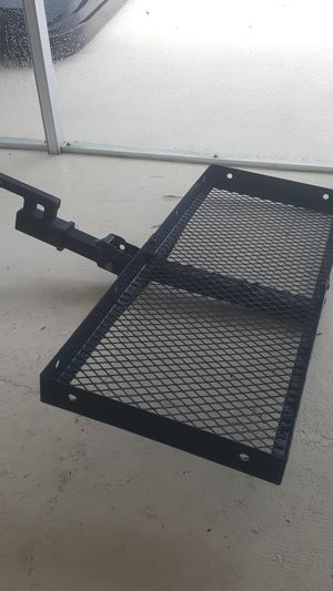 Folding hitch storage rack for Sale in Melbourne, FL