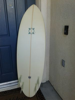 """5'8"""" Chris Birch quad Surfboard for Sale for Sale in Wildomar, CA"""