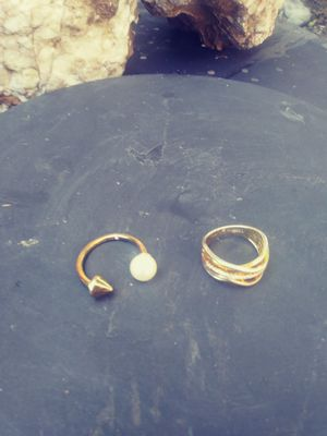 Stella and dot /two toned ring for Sale in Dallas, TX