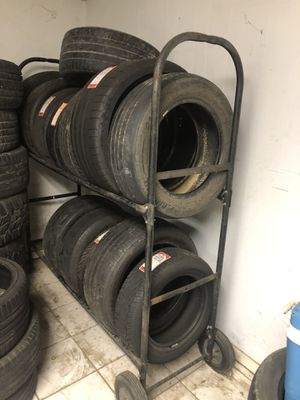 Tire rack for Sale in Houston, TX
