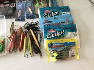 Shoe Box full of FISHING Line Lures & more for Sale in Longwood, FL