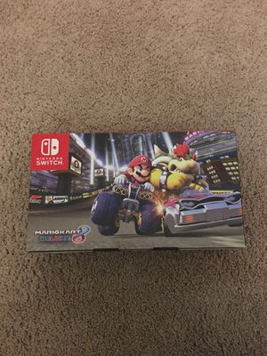 Brand new Nintendo Switch (Mariokart 8 Deluxe) for Sale in Baltimore, MD