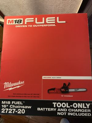 "Milwaukee M18 Fuel 16"" Chainsaw for Sale in Eagle Mountain, UT"