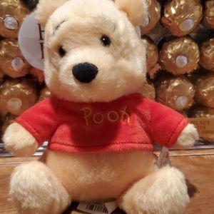 Winnie The Pooh Bear Plush Beanies Disney Store for Sale in Las Vegas, NV