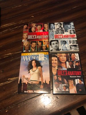 Grey's anatomy and Weeds season DVDs for Sale in Lynnwood, WA