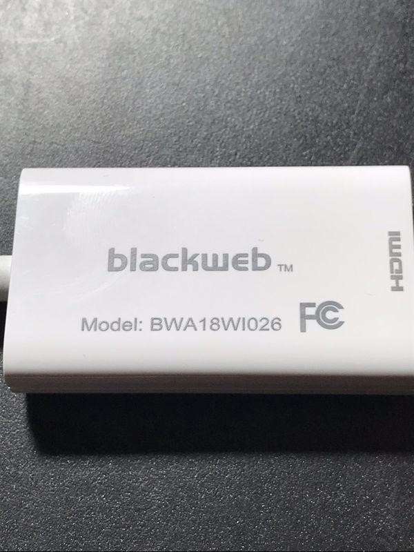 BRAND NEW Blackweb USB-C to HDMI Adapter