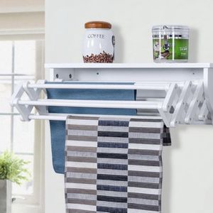 Wall-Mounted Folding Clothes Towel Drying Rack for Sale in Bakersfield, CA