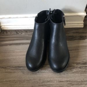 Black boots size 9W for Sale in Allen Park, MI