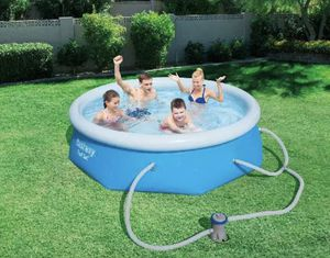 """Brand New 8' x 26"""" Bestway Fast Set Ring Pool with Filter Pump 8 foot ft. for Sale in Woodinville, WA"""