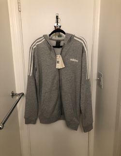 Men's Medium Adidas Zip Up Sweater for Sale in Alexandria,  VA