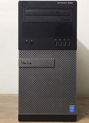 DELL Optiplex 9020 Core i7 Corei7 8GB RAM 128GB SSD Windows 10 dual display desktop computer for Sale in Hollywood, FL