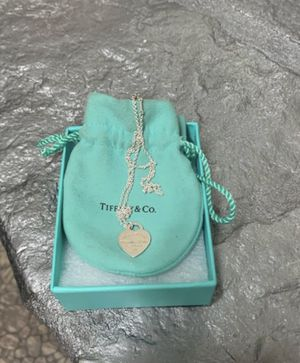 "NWOT/ Tiffany & Co authentic Rare & beautiful Sml Return to Tiffany heart tag w/15"" Perretti necklace $119 for Sale in San Antonio, TX"