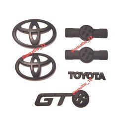 Set Matte Black For 2012-16 Toyota GT86 Scion FRS Front Rear Fender Emblem Badge for Sale in Los Angeles,  CA