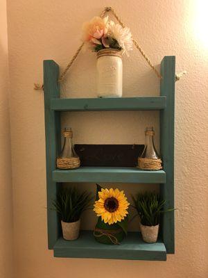 Rustic Solid Wood ladder Shelf for Sale in Vista, CA