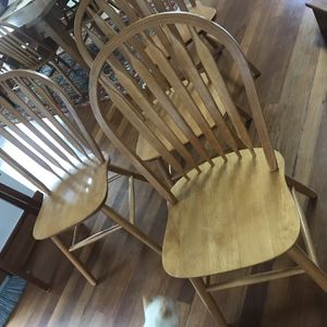 (10) Ten Wooden Dining Chairs for Sale in Golden, CO