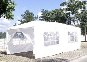 *NEW* Canopy FOR SALE Outdoor Party Wedding Tent WHITE Gazebo Pavilion W/6 Side Walls 10x20 for Sale in Brentwood, CA