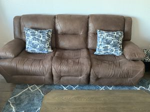 Free Brown Sofa Good Condition for Sale in San Francisco, CA