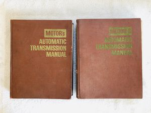 MOTOR'S Automatic Transmission Manuals. $30 Each for Sale in San Bernardino, CA