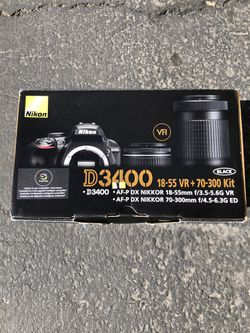Nikon D3400 for Sale in Vallejo,  CA