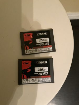 KINGSTON 256 GB SSD\NOW DRIVES (read details) for Sale in Chicago, IL