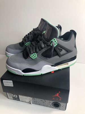 Nike air Jordan green glow 4 size 10 good condition og all for Sale in Bellevue, WA