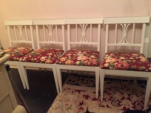 4 shabby chic chairs for Sale in Elmsford, NY