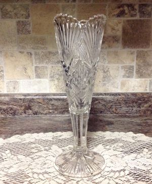 EAPG Trumpet Vase Fan and Diamond Pattern for Sale in Cardington, OH